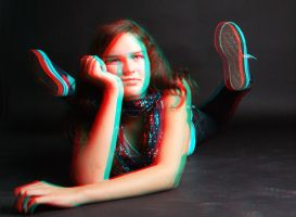 take 3D glasses and see by GreenSlOw