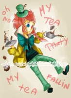 Teito.  Mad Hatter by waterloks