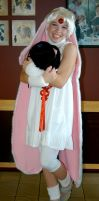 Mokona at the cosplay by Red-Matter