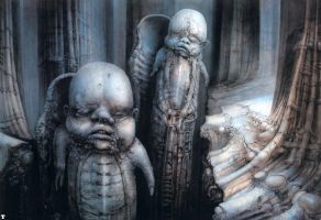 H. R. Giger XXXIV by CamillOnline