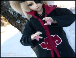 Deidara: In Snow, yeah. by Elzamine