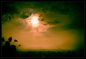 sunset at subang by jfarchaul