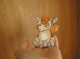 Vulpix paperchild by makiko95INu