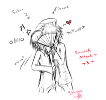 CurryxIke - SMOOCH? O-O by Smartanimegirl