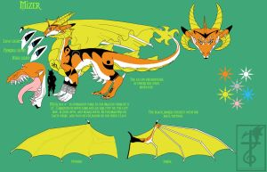 Mizer - Dragon Reference by yamilink