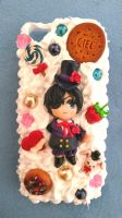 All handmade Black Butler decoden iPhone 5 case by SimonaZ