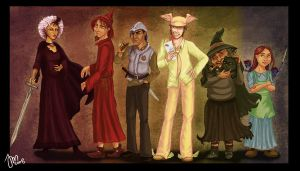 Discworld Rainbow by yenefer