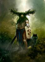 LESHY 2D ARTIST MAGAZINE by donmalo