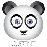 Justine the Panda by elindr