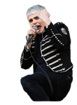 Gerard Way Black Parade Era Render 4 by CyanideTransmissions