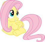 Fluttershy Being Fluttershy by RedPandaPony