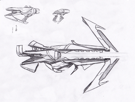 Particle Weapons(Sketch) by NokyoOkami