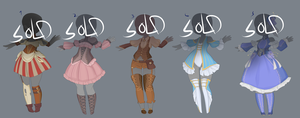 Outfit adopts 10 [CLOSED] by MantaTheMisukitty
