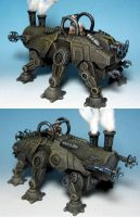 The Galvanic Rhino by Spielorjh