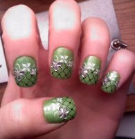 Konad Nail design by AngelElementsEtsy