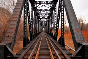 railroad bridge by honda-vfr