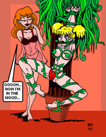Harley And Ivy at play by GrouchoM