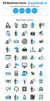 50 Business Icons by ottoson