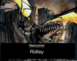New Comer Ridley by SuperMetroid2