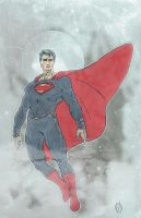 The Man of Steel by MikeOppArt