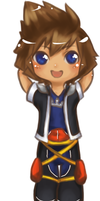 KH Chibi Series: Sora by Cicre
