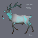 Glowing Elk - SOLD by EmmonArts