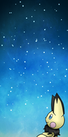 Free to use - pichu background by Amelie-The-Pixie