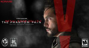 Venom Snake - Metal Gear Solid V The Phantom Pain by Snake-n-DA-boX