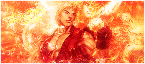 Street Fighters : Ken tag by Tulip-Creativ