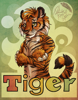 Badge tiger by DrizzleSnow