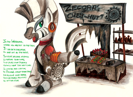 Comission - Zecora de Chem-Ist by jamescorck