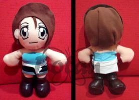 Jill Valentine RE3 plush ver. by Momoiro-Botan