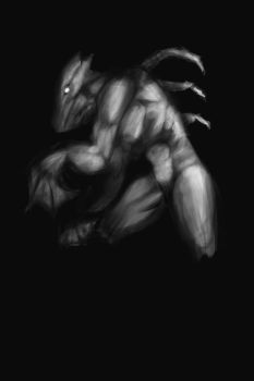 Draco black And White by vile72