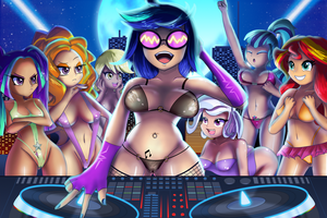 Summer of the dj by zelc-face
