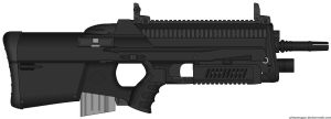 T1000 Advanced Assault Rifle by ZiWeS