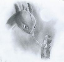 how to train your dragon drawing by b3ttsy