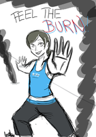 FEEL THE BURN by aaamaaa