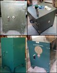 Antique Victor safe  Pacific Electric theme1 by decophoto32