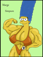 Marge's work out by WorldofSolgamia