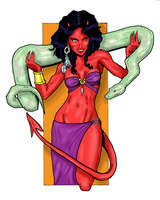 Sexy Lil Devil - Colored by Bbedlam