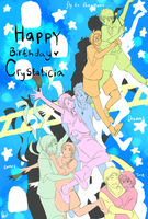 Happy birthday , Crystalicia !! by aphin123