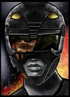 The Black Ranger by HeroforPain