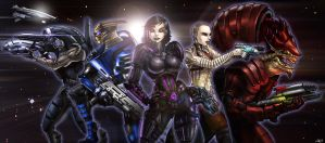Mass Effect by CerberusLives