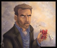 Dr.House for Wolvy by DolphyDolphiana