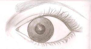 My eye by IsabellaGGlez