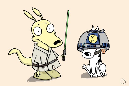 Jedi's Modern Life by fakemonsters