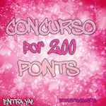 Concurso por 200 POINTS [ABIERTO] by PastelittoEditions