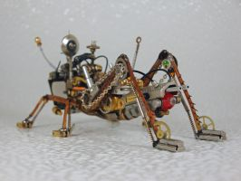 Steampunk-Clockpunk Bugs 18 by dkart71