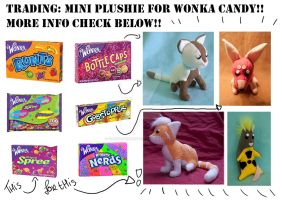 Wonka Candy for Plushies!! by FurryFursuitMaker