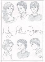 HP: Lily, Albus and James by Synne-M
